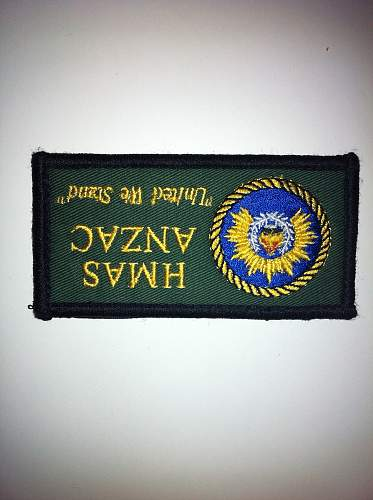 Royal Australian Navy Patches