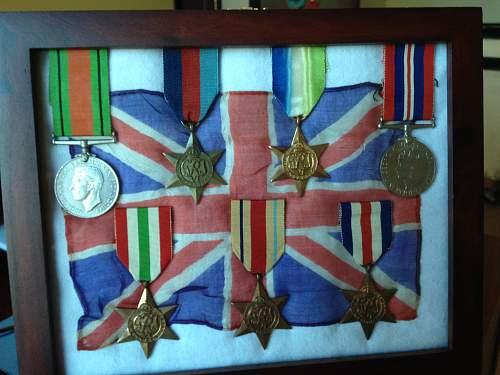 Small British silk flag