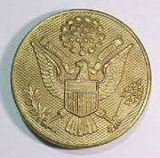 US Enlisted mans cap insignia