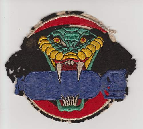 What do you guys think of this 864th Bomb Squadron patch?