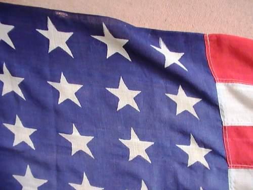 Large 48 star US flag