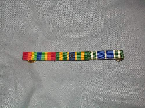 WWII U.S. Campaign Ribbons?