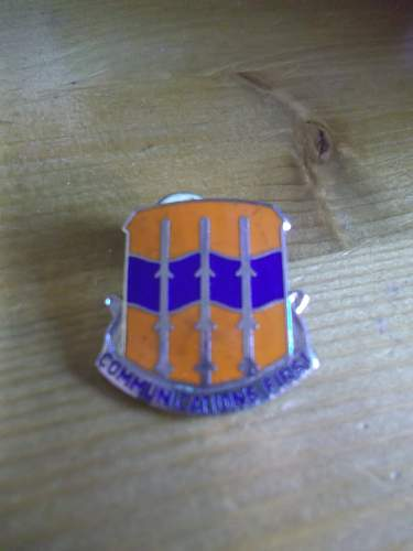US Distinctive Unit Insignia COMMUNICATIONS FIRST