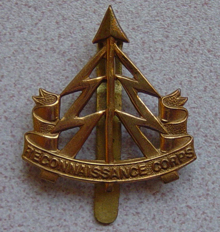 Small group of Reconnaissance Corps insignia