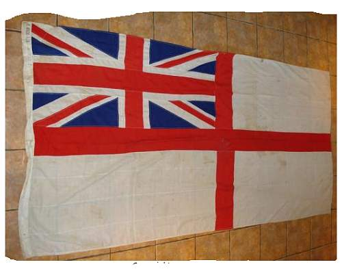 British Royal Navy White Ensign