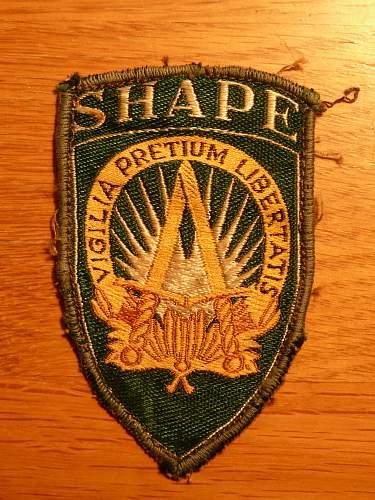 S.H.A.P.E Cloth Patch