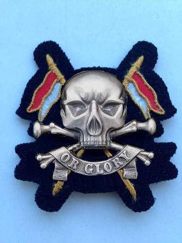 new MOTTO ,for the royal lancers ,