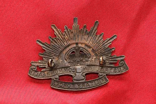 Australian Cap Badge