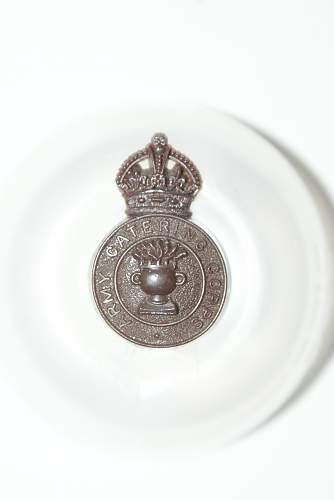 WW2 British Plastic Cap badges