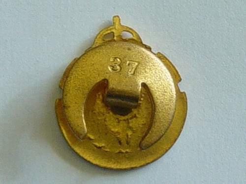 British RAMC Association membership badge