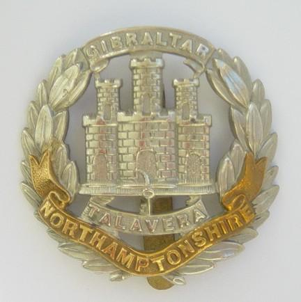 Northamptonshire Regt cap badge