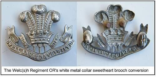 'Sweetheart' items.........