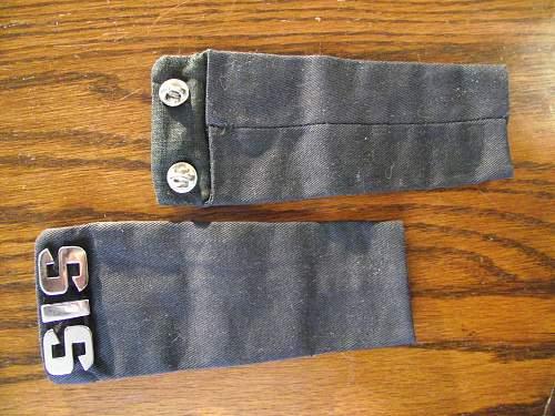 Unknown SIS shoulder strap insgnias
