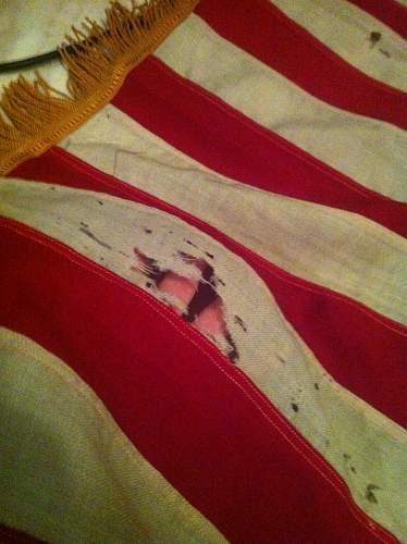 """My US flags and one """"rare"""" piece"""