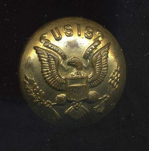 USIS Uniform Button Cover