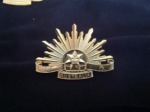 Rare Rising sun badge