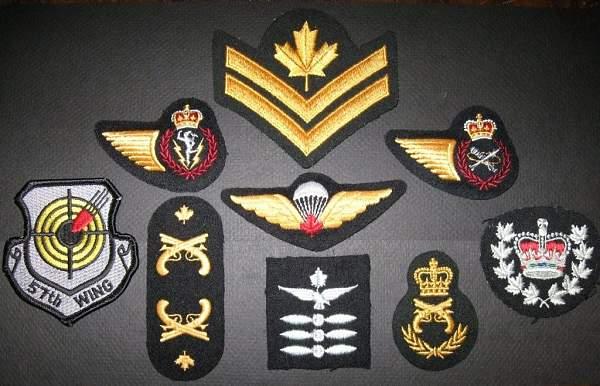 British bullion insignia  help please ??
