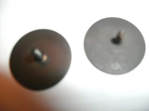 WW1 collar discs