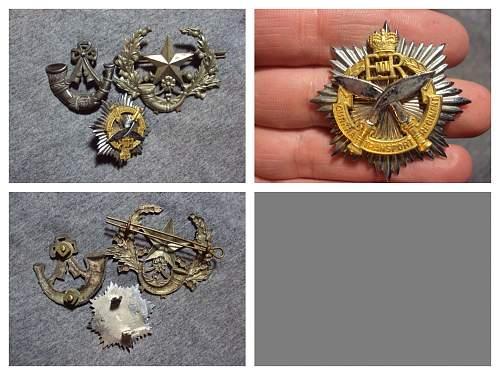 Royal commonwealth cap badges ???