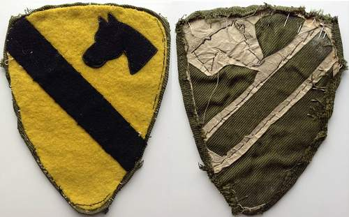 My Army Shoulder Sleeve Insignia Collection