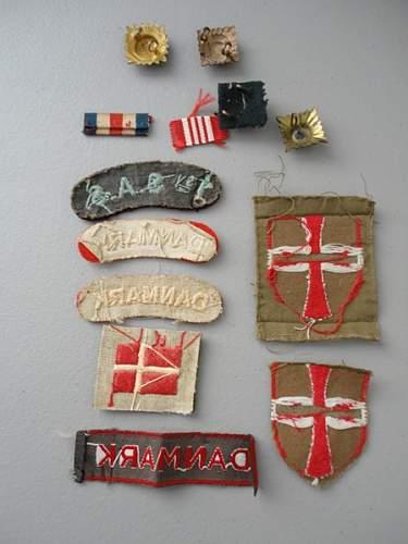 Danish Insignia--British Connection?