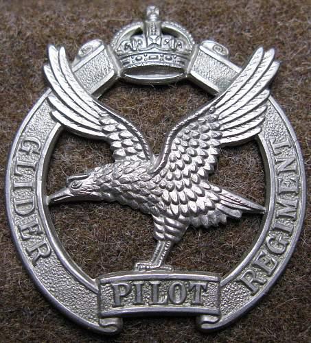 Opinion on British Glider Pilot badge