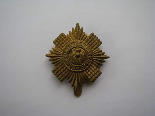 Scots Guards Patch