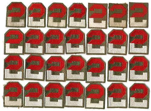 Click image for larger version.  Name:2nd_Army_patches.jpg Views:197 Size:220.4 KB ID:685034