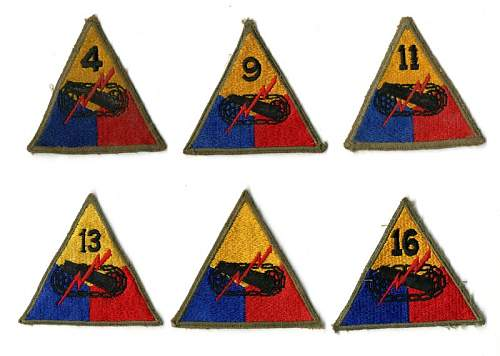 Click image for larger version.  Name:WWII_Patches_armored.jpg Views:126 Size:70.2 KB ID:685463