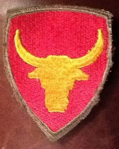 WWII US Shoulder Sleeve Insignia Collection