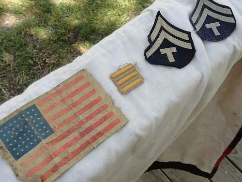 US Flag Patch and Some US Insignia