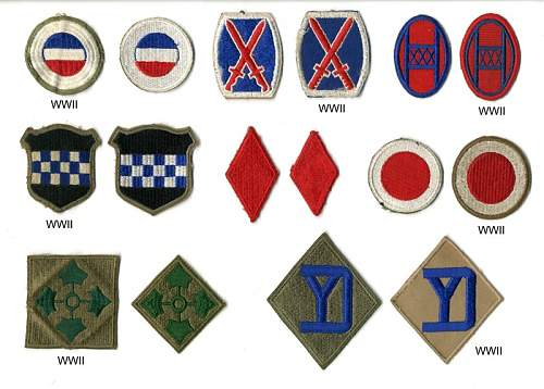 Looking for a good reference on US Shoulder sleeve insignia