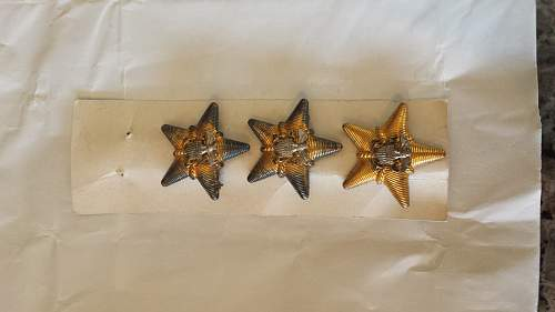 Does anyone know what these are and possibly the value? WW2 admirals stars?