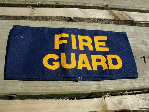 fireguard armband