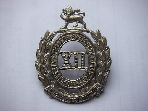Click image for larger version.  Name:12th Battalion The Launceston Regiment hat badge 2 1.jpg Views:82 Size:255.6 KB ID:705103