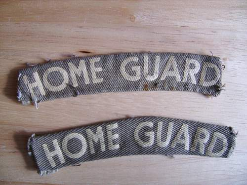british home guard insignia