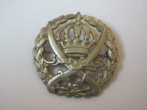 Arab Legion Cap Badge?