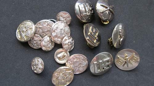 Army chrome collar discs