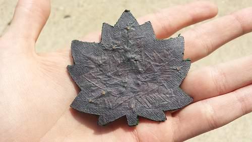 Canadian RAF patch?