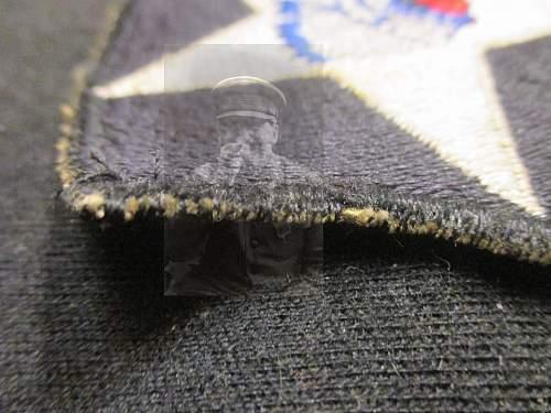 U.S 2nd Infantry Division patch and U.V
