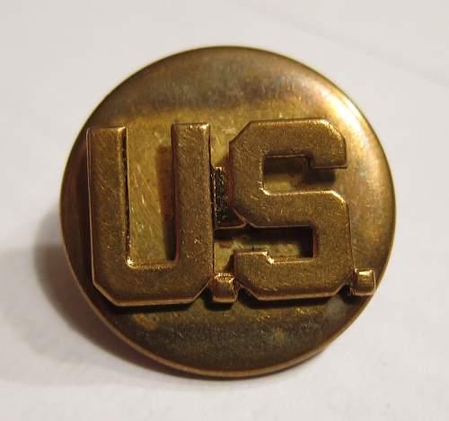 """""""U.S."""" pin"""