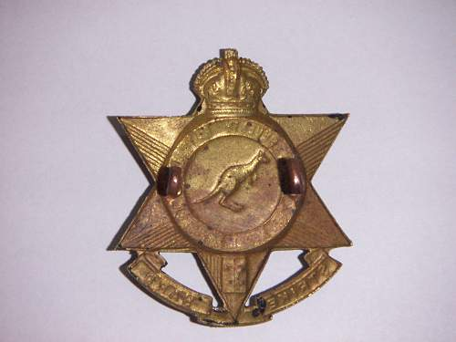 Click image for larger version.  Name:57th Battalion The Merri Regiment Hat 2.jpg Views:16 Size:189.4 KB ID:733828