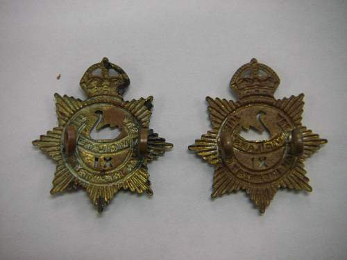 Click image for larger version.  Name:11th Battalion The City of Perth Regiment collar set 2.jpg Views:14 Size:180.0 KB ID:742399