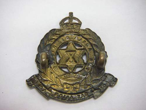 Click image for larger version.  Name:10th Battalion The Adelaide Rifles Collar 2.jpg Views:15 Size:183.0 KB ID:742401