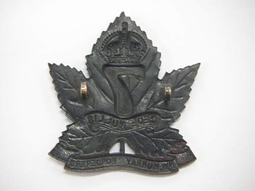 Click image for larger version.  Name:7th Battalion The Northwest Murray Boarderers Hat Badge 2.jpg Views:13 Size:142.8 KB ID:742403