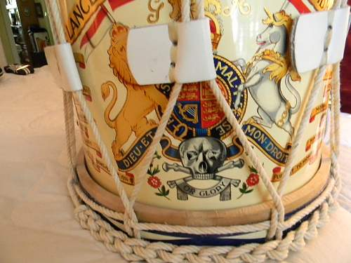 17th Lancers Side Drum