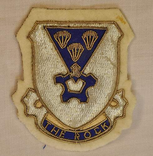 US Jacket patches & SSI