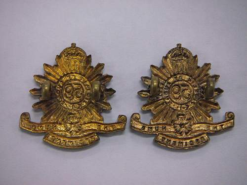 Click image for larger version.  Name:59th Battalion The Hume Regiment collars 2.jpg Views:37 Size:244.9 KB ID:748782