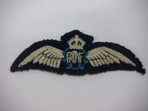 Click image for larger version.  Name:WW2 RAAF Wings 1.jpg Views:40 Size:143.9 KB ID:749701