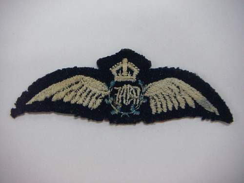 Click image for larger version.  Name:WW2 RAAF Wings 2.jpg Views:59 Size:158.9 KB ID:749702